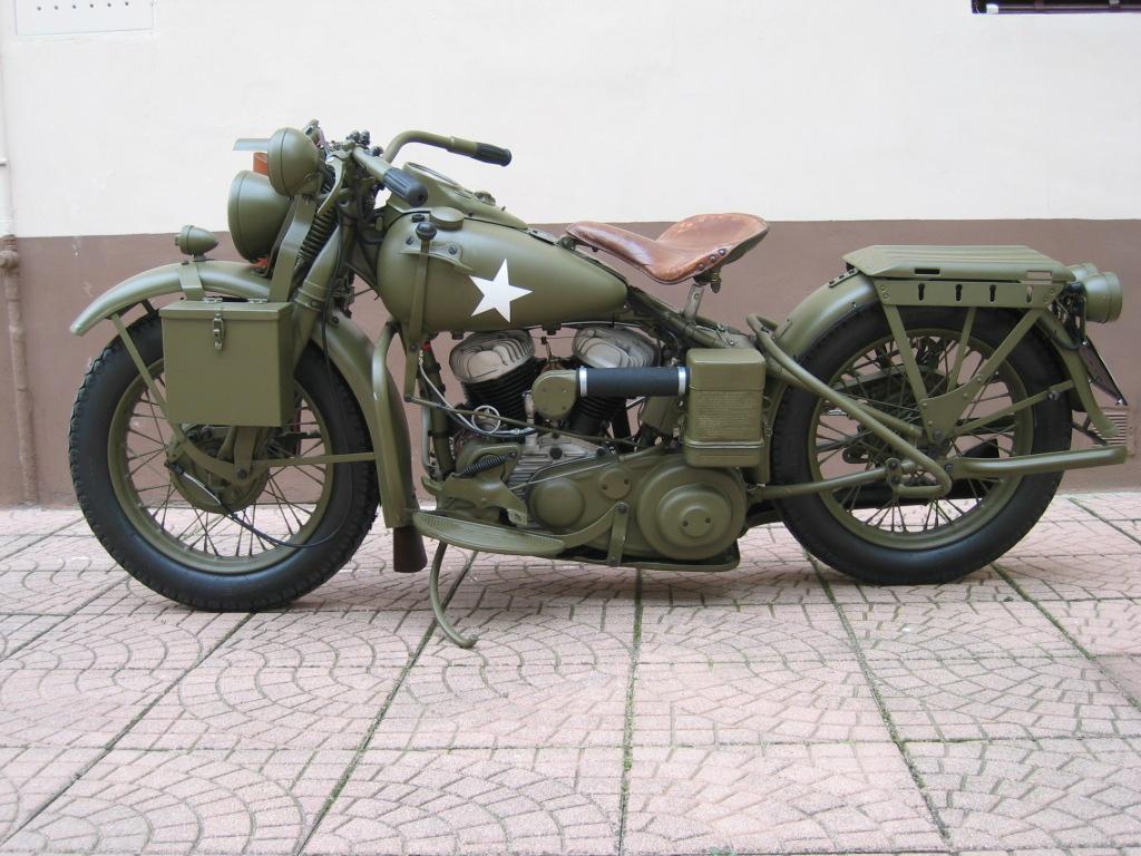 Harley davidson wla 750 del 1942 typeiii