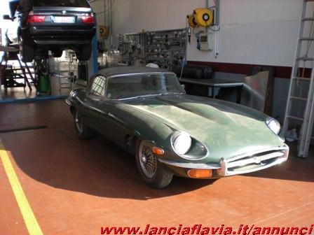 scaduto vendo jaguar e type cabrio 82802. Black Bedroom Furniture Sets. Home Design Ideas