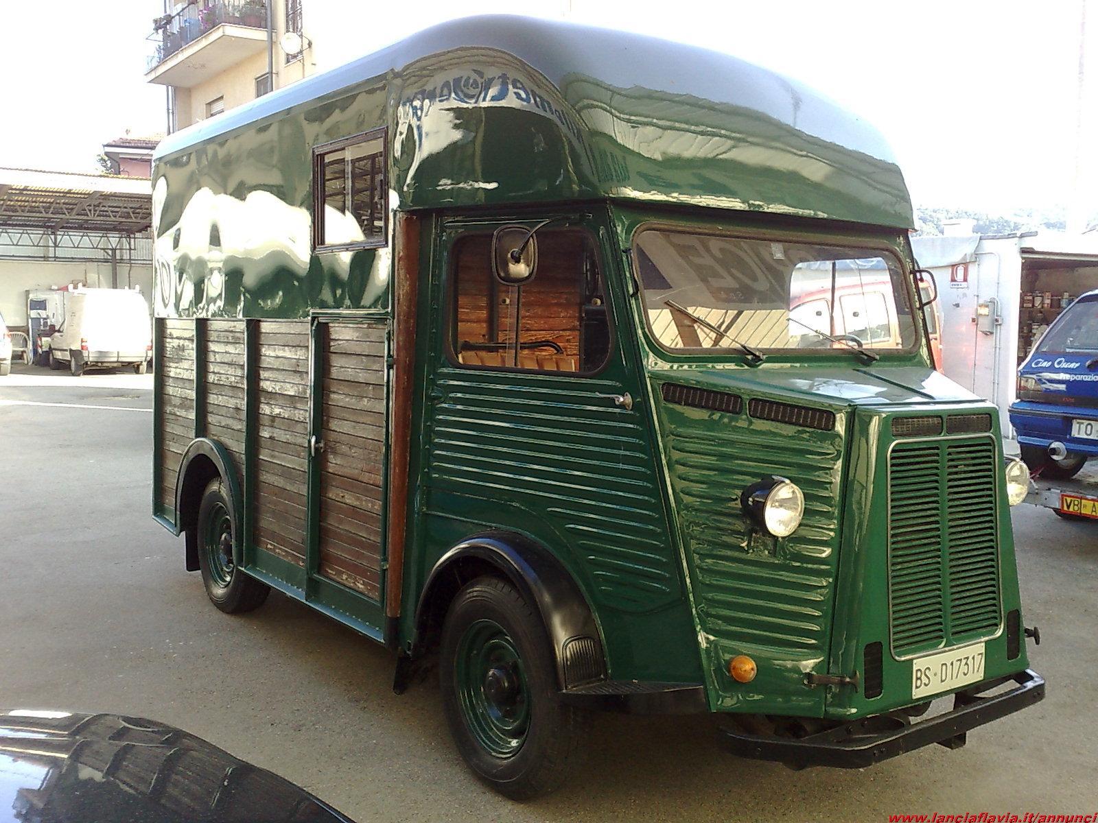 Citroen HY Furgone Trasporto Cavalli del 1963