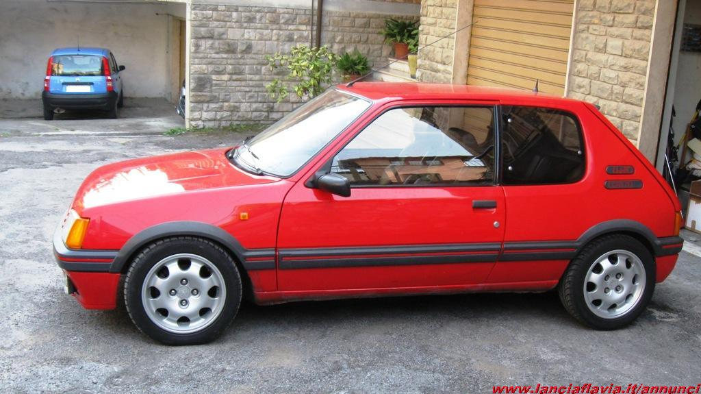 1992 peugeot 205 gti 1 9 related infomation specifications weili automotive network. Black Bedroom Furniture Sets. Home Design Ideas