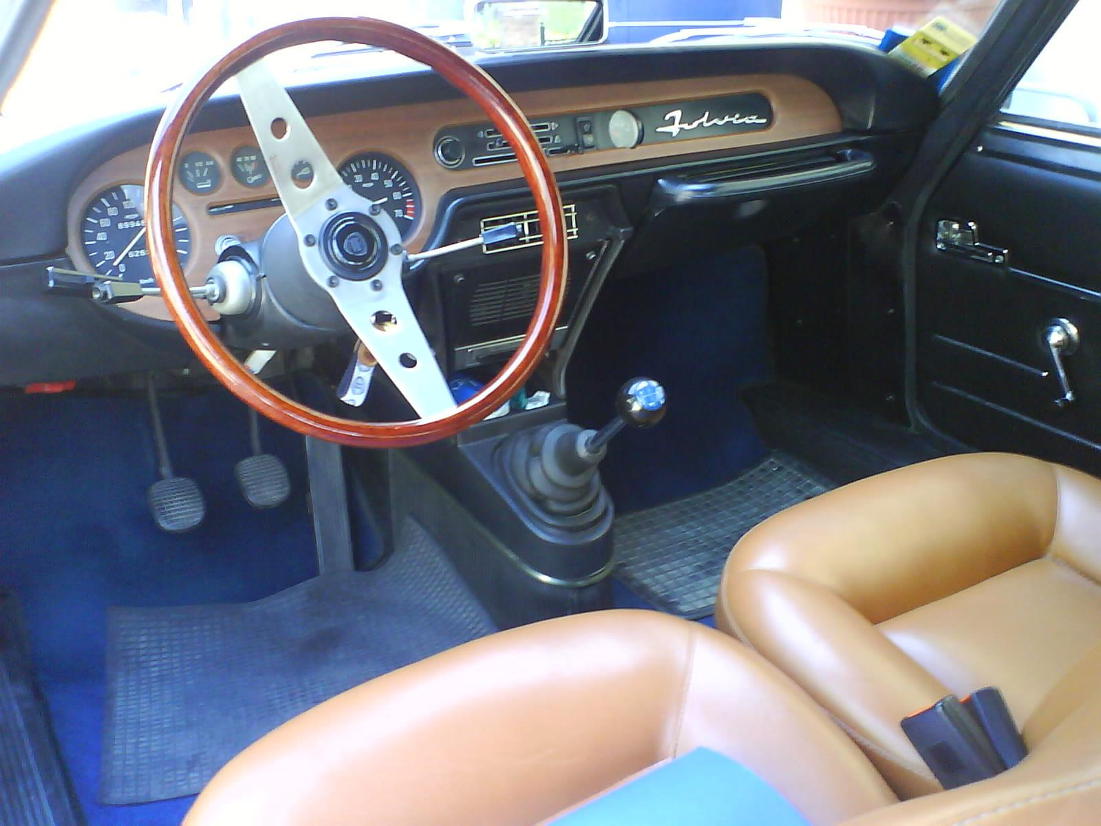 1971 Lancia Fulvia Zagato Rear