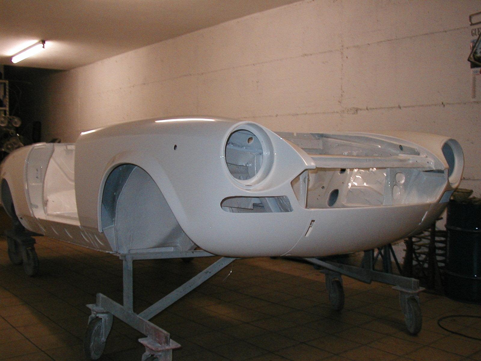 Fiat 124 Sport Spider Da Restaurare
