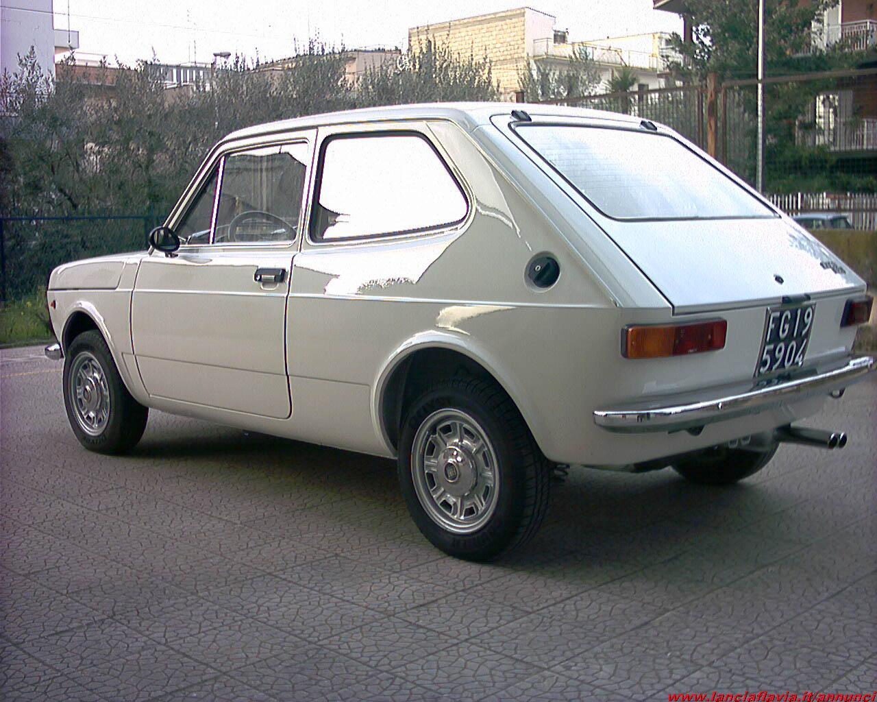 Fiat 127 Bn Special Sport Paraurti Posteriore Cromato