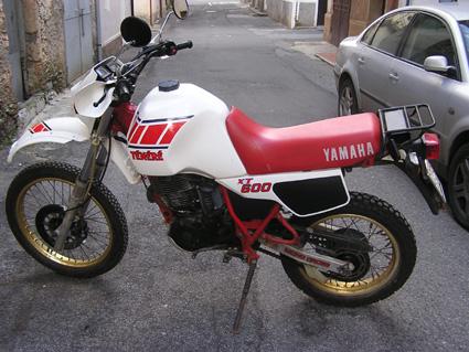 VENDO YAMAHA XT 600