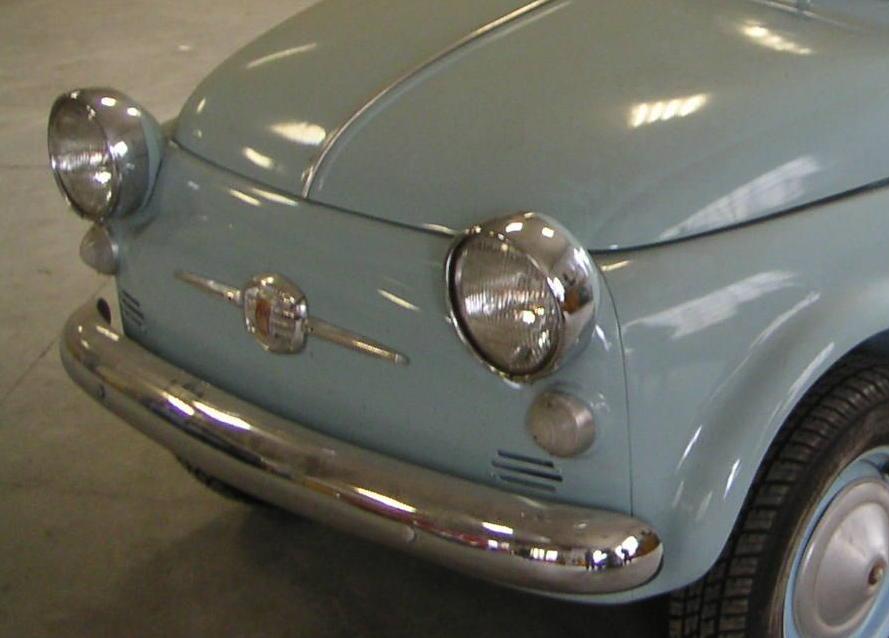 Fiat Nuova 500 N versione America