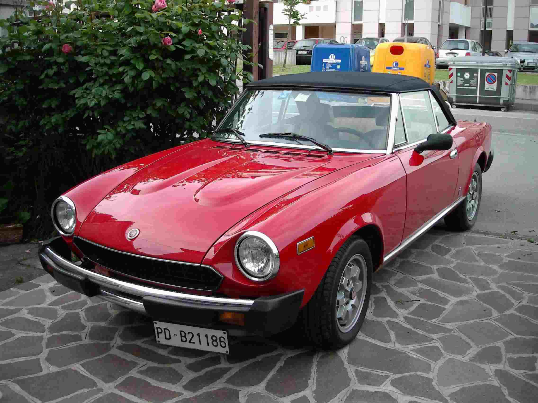 fiat 124 spider volumex. Black Bedroom Furniture Sets. Home Design Ideas