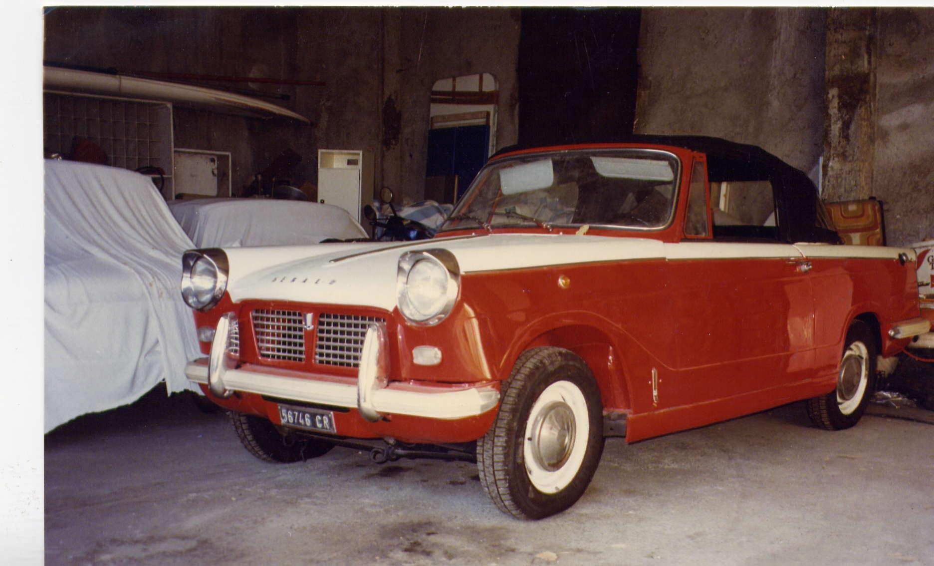 TRIUMPH HERALD 1200 CABRIO ANNO 1963
