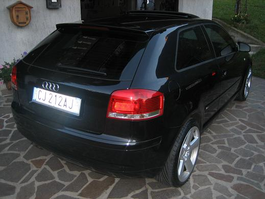 scaduto vendo audi a3 2000 tdi 140 cv s line kit rs completo 47238. Black Bedroom Furniture Sets. Home Design Ideas