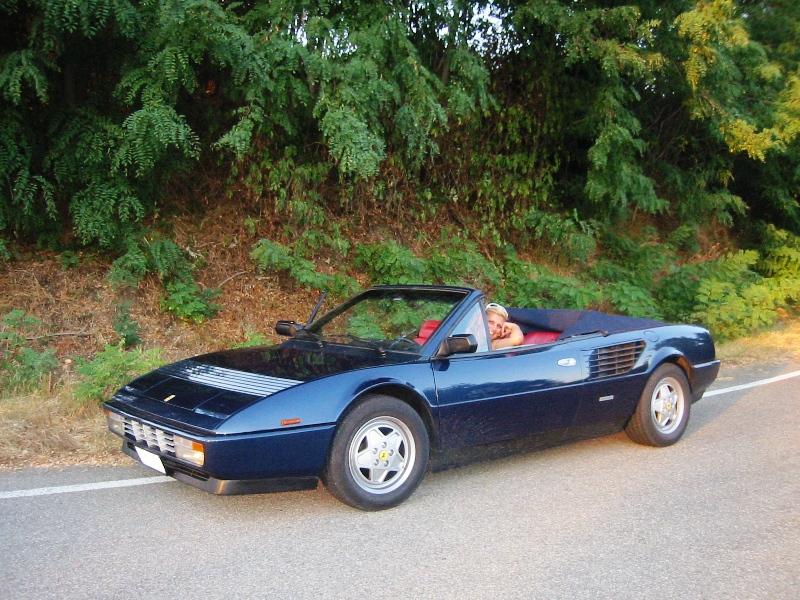 cancellato vendo ferrari mondial cabrio 3 2 1986 63082. Black Bedroom Furniture Sets. Home Design Ideas