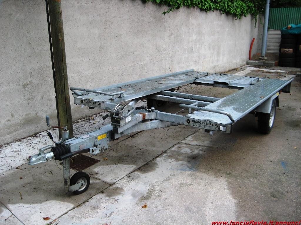 Scaduto vendo carrello trasporto auto ellebi lba 1040 74232 for Carrello sposta auto