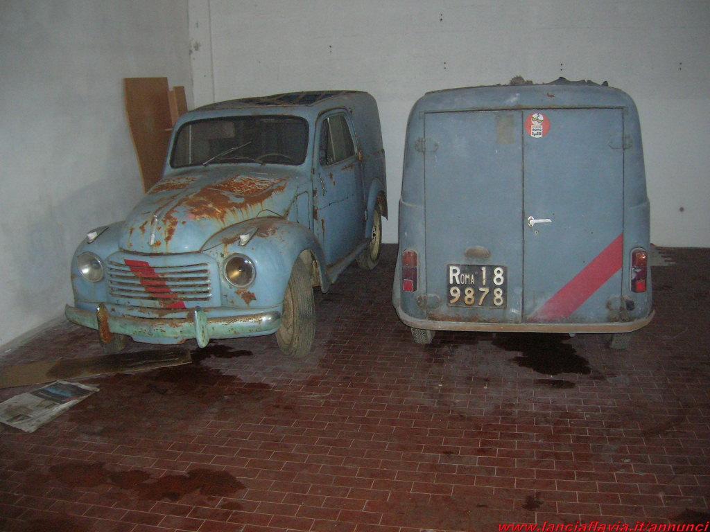 Scaduto: Vendo Fiat Topolino Furgone (75263)