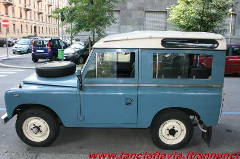 Scaduto vendo land rover 88 benzina de luxe 84014 for Garage land rover nancy