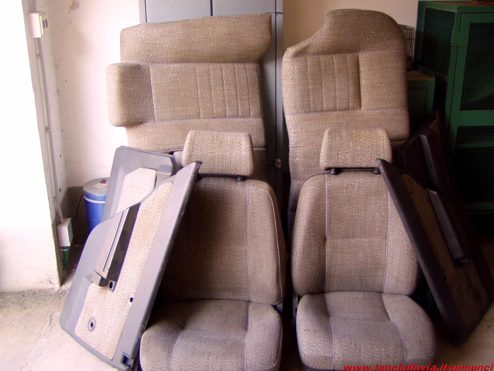 scaduto vendo alfa 75 1 serie sedili e pannelli porta